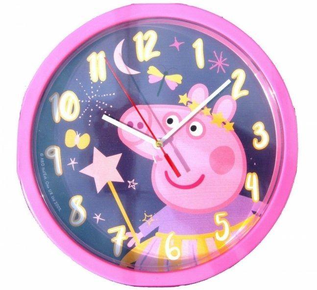 Zegar ścienny świnka peppa pig