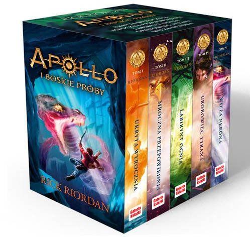 Pakiet Apollo i boskie próby - Rick Riordan