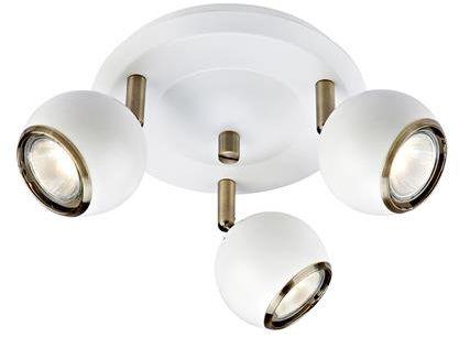 Lampa sufitowa COCO ceiling white/AB 106875 - Markslojd  Mega rabat przez tel 533810034  Zapytaj o kupon- Zamów