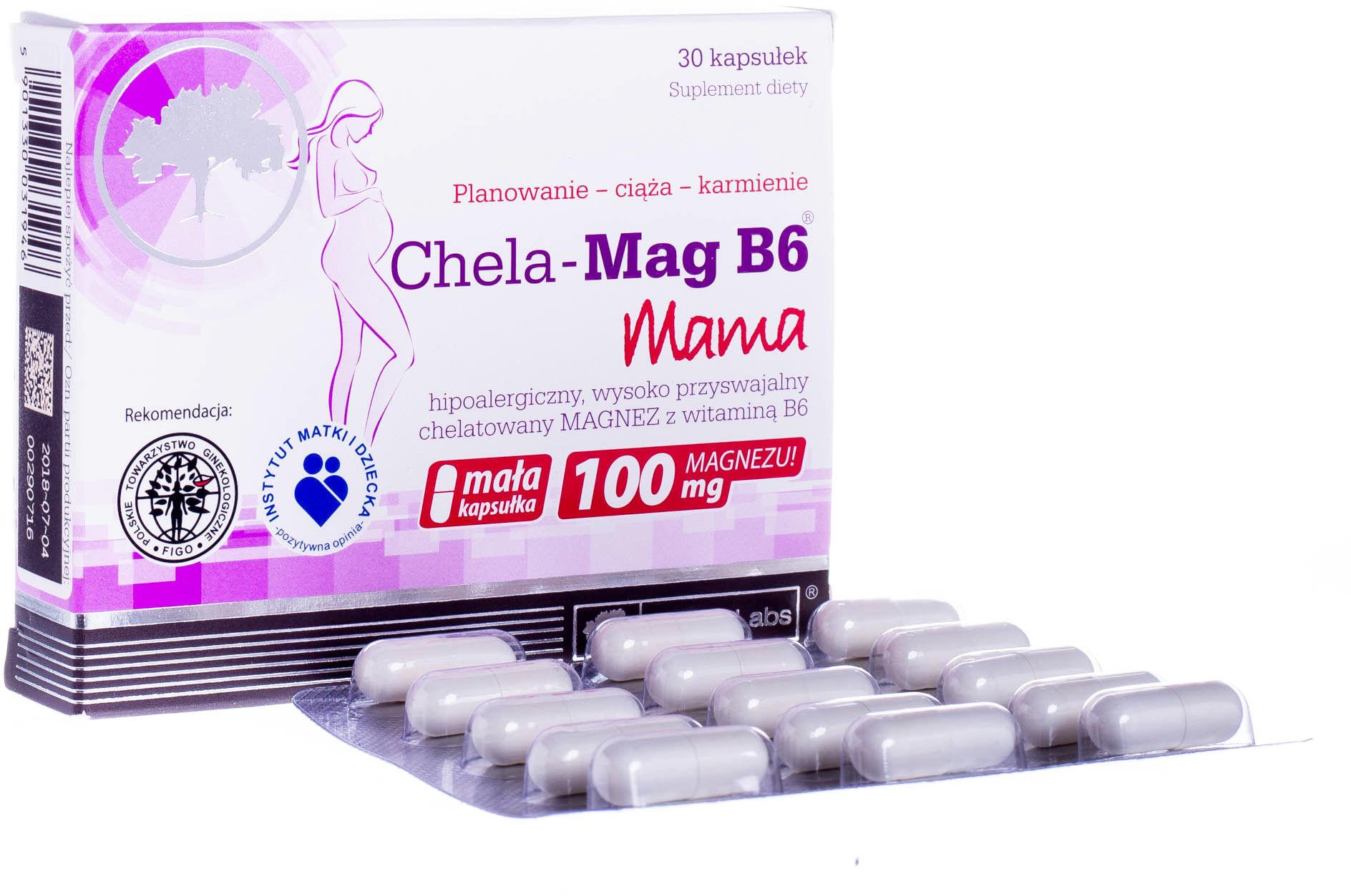 OLIMP CHELA - MAG B6 MAMA DLA KOBIET W CIĄŻY