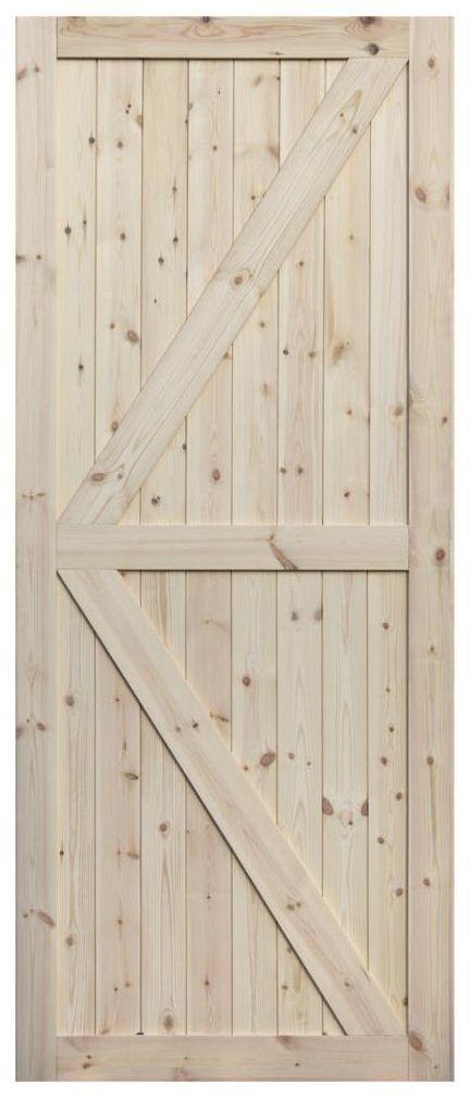 Skrzydło przesuwne drewniane Loft II 80 Radex