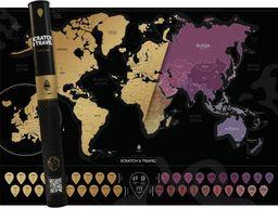 Mapa zdrapka. Świat ENG ZAKŁADKA DO KSIĄŻEK GRATIS DO KAŻDEGO ZAMÓWIENIA