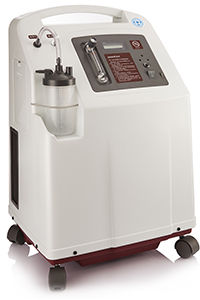 Koncentrator tlenu z czujnikiem stężenia Yuwell 8F-5 (przepływ do 5l)