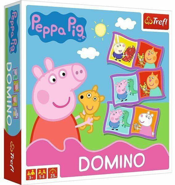 Gra Domino Peppa 02066 - Trefl PAP