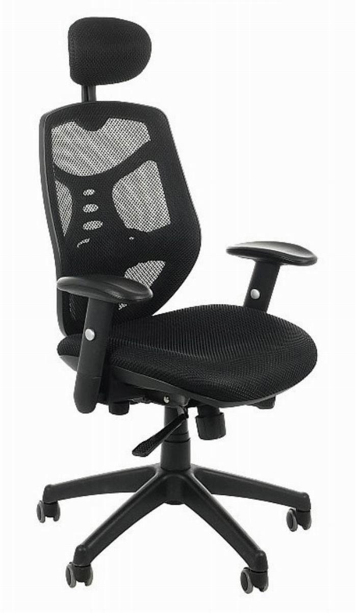 Fotel biurowy Spectrum HB NET czarny SitPlus