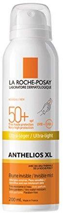 La Roche-Posay Anthelios XL transparentny ochronny spray SPF 50+ 200 ml
