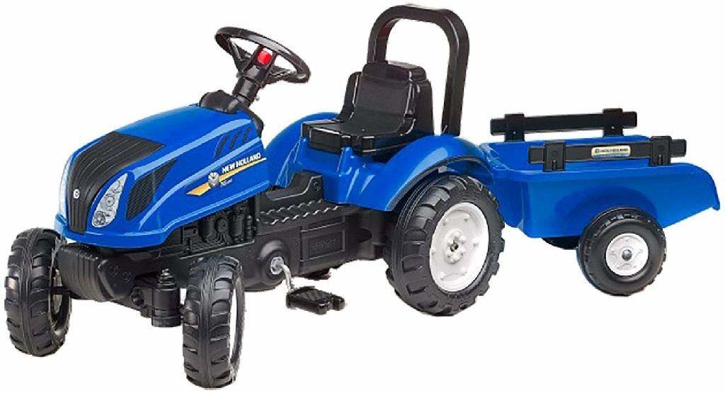 Falk  3080 od  traktor New Holland T6 + przyczepa