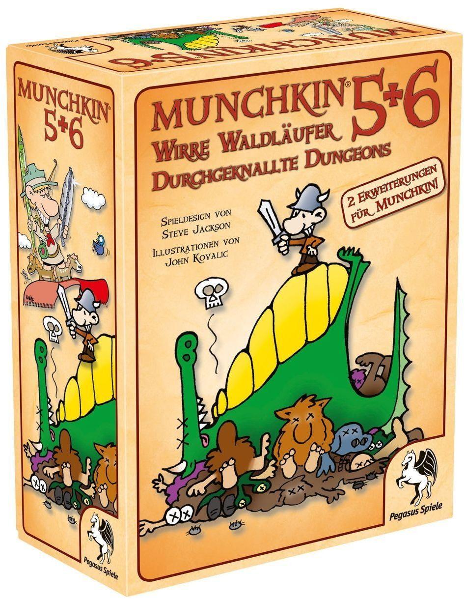 Pegasus Spiele 17225G - Munchkin 5+6+6,5