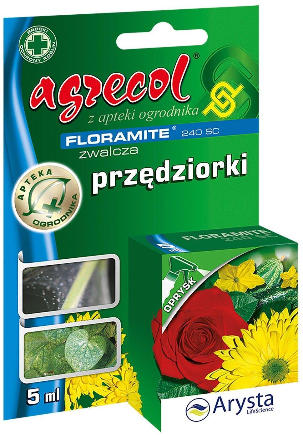 Środek ochrony roślin Agrecol Floramite 240SC 5 ml