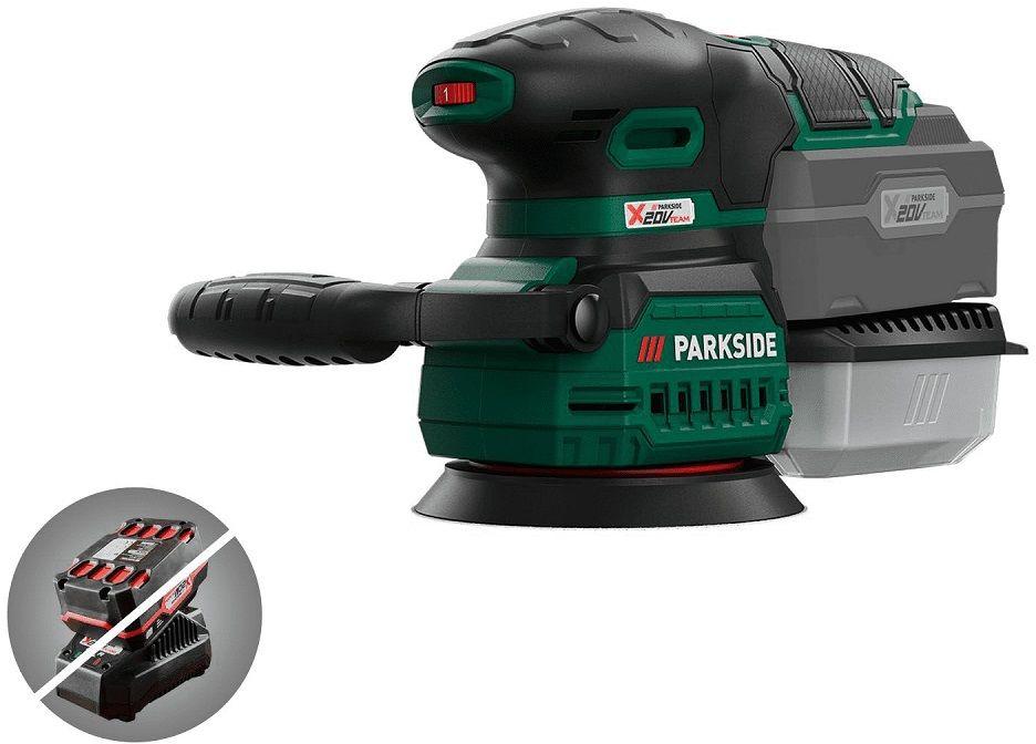 Szlifierka mimośrodowa Parkside PAEXS 20-Li A1