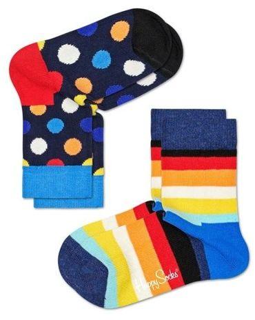 Skarpety dziecięce Happy Socks KBDO02-6500 - Big Dot Socks KIDS 2pak