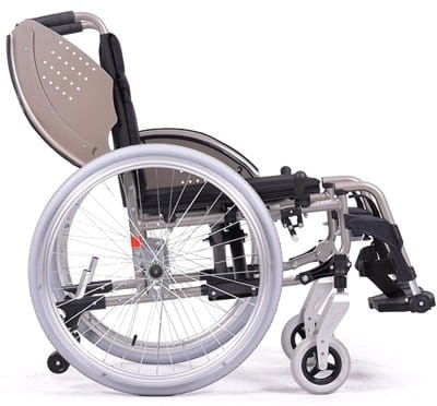 Wózek inwalidzki aluminiowy V200 GO XXL