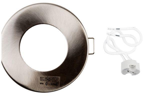 Oprawa punktowa 1x35W GU5,3 IP44 MARIN CT-S80-SN satynowy nikiel 4704