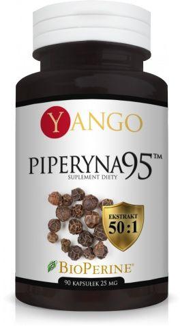 Piperyna 95  YANGO 25mg- 90 kapsułek