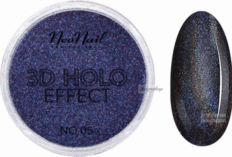 NeoNail - 3D HOLO EFFECT - Holograficzny, trójwymiarowy pyłek do paznokci - 5329-5