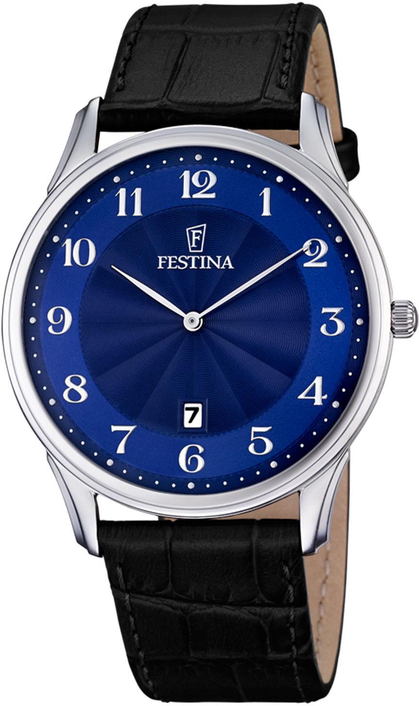 Zegarek Festina F6851-3 Classic - CENA DO NEGOCJACJI - DOSTAWA DHL GRATIS, KUPUJ BEZ RYZYKA - 100 dni na zwrot, możliwość wygrawerowania dowolnego tekstu.