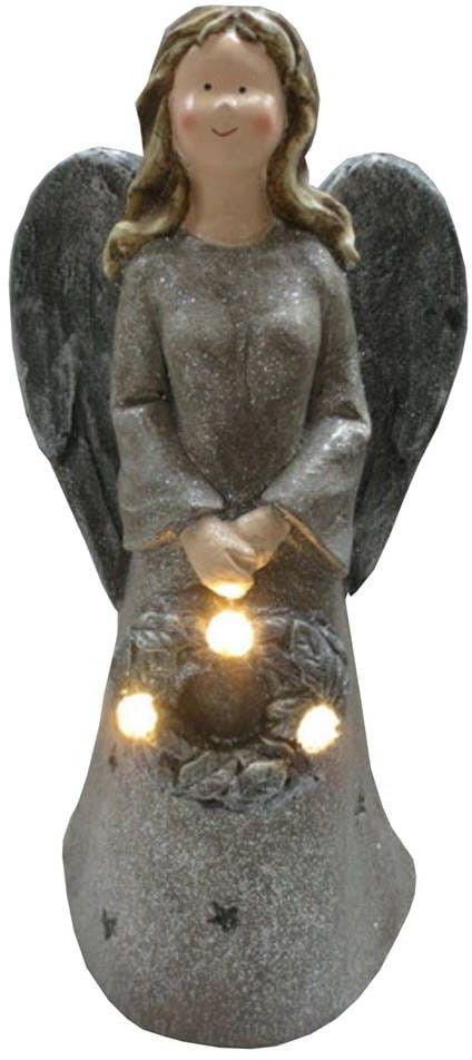 Figurka anioł LED + melodie