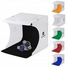 Namiot bezcieniowy 2x panel 20 LED foto produktowe
