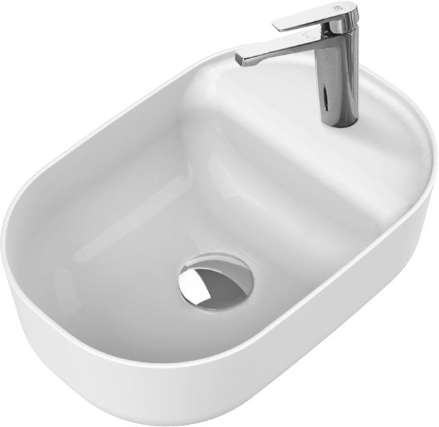 CeraStyle umywalka Aqua 42 x 27 cm 077000-u
