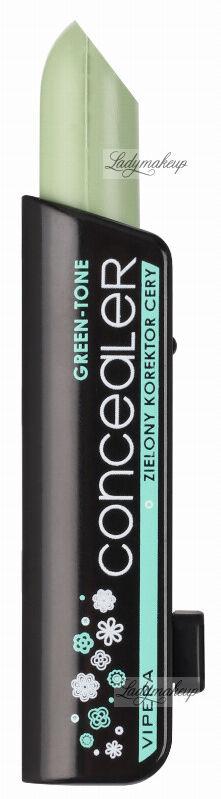 VIPERA - CONCEALER - GREEN-TONE - Zielony korektor cery - 01