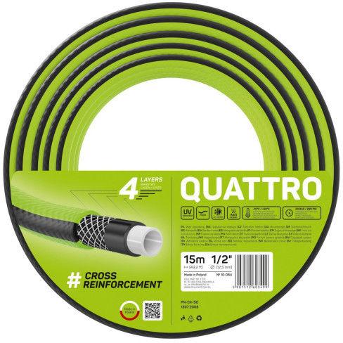 """Wąż ogrodowy Cellfast Quattro 1/2"""" 15m"""