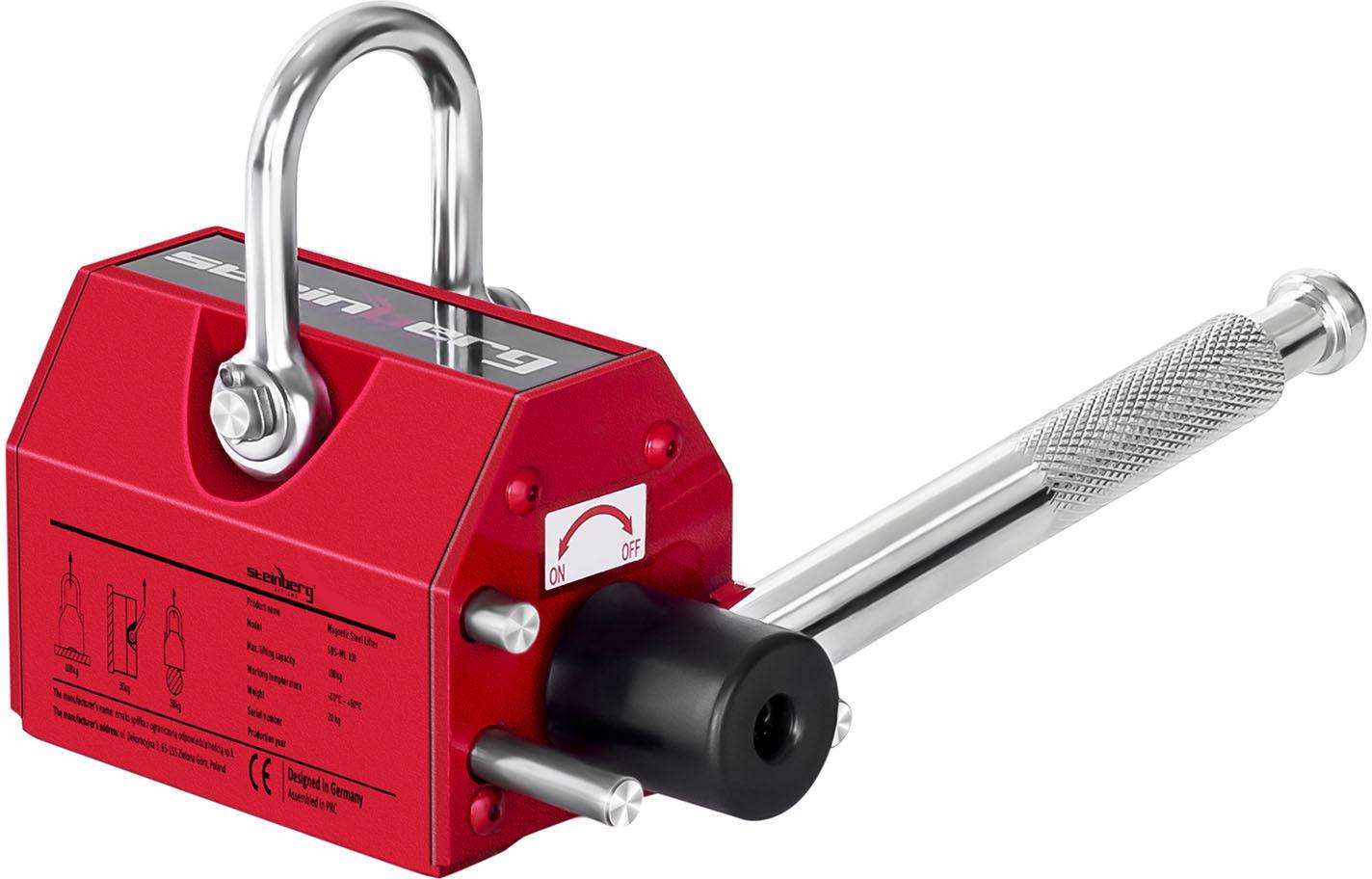 Podnośnik magnetyczny - 100 kg - Steinberg Systems - SBS-ML 100 - 3 lata gwarancji/wysyłka w 24h