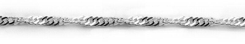 Srebrny Łańcuszek LSX0090