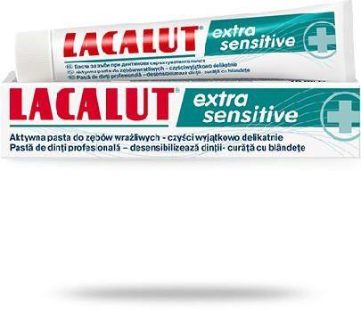 Lacalut Extra Sensitive pasta do zębów 75 ml