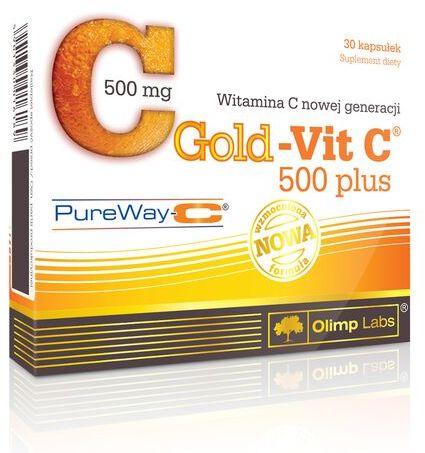 Olimp Gold - Vit C 500 plus - 30 kapsułek