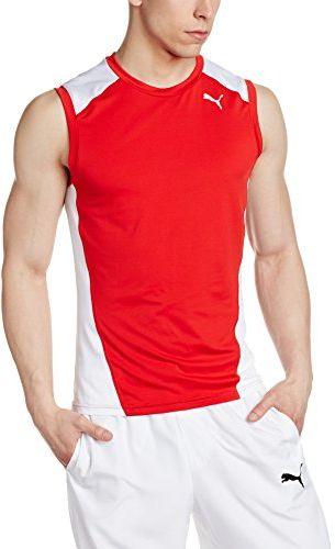 Puma Cross the Line SleevelessTop koszulka męska czerwony Puma Red-puma White 152