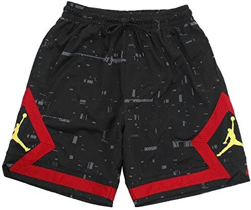 Nike Jsw Last Shot Diamond, szorty męskie, wielokolorowe (Nero/Gym Rosso/Tour Yellow), XS
