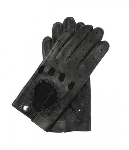 Damskie rękawiczki skórzane samochodowe - całuski