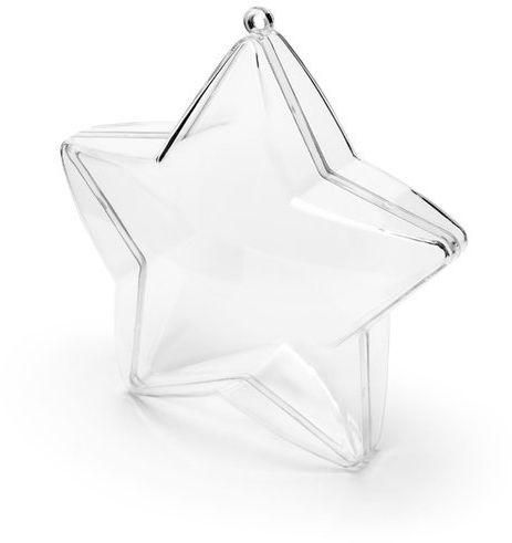 Pudełeczka Gwiazdka bezbarwne 3 szt PUDP31