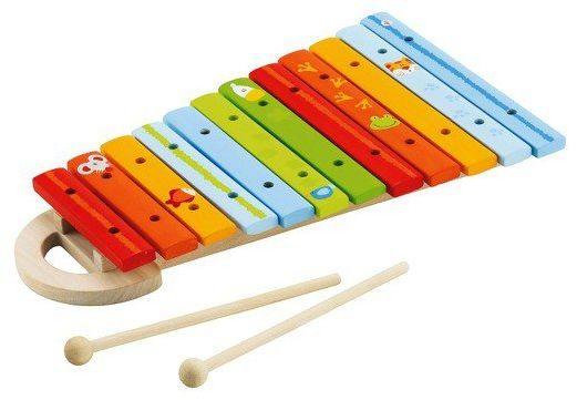 Drewniane, kolorowe cymbałki dla dzieci, 81855-Sevi, instrumenty dla dzieci