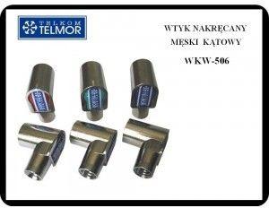 WTYK ANTENOWY MĘSKI KĄTOWY WKW-506 TELKOM TELMOR Oferta