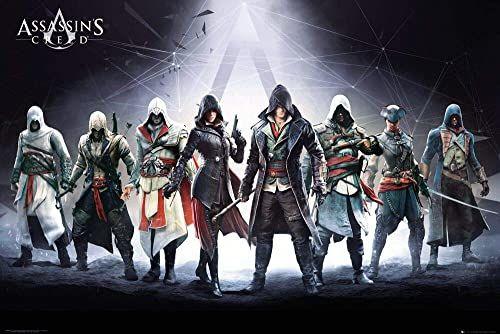 GB eye Assassins Creed, postacie, plakat maxi (61 x 91,5 cm)