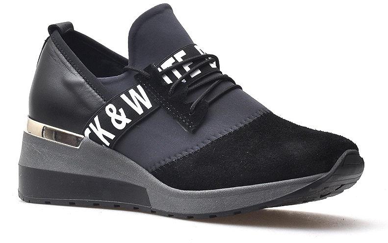 Sneakersy CheBello 2358-034-141-PSK-S68 Czarne+Szary