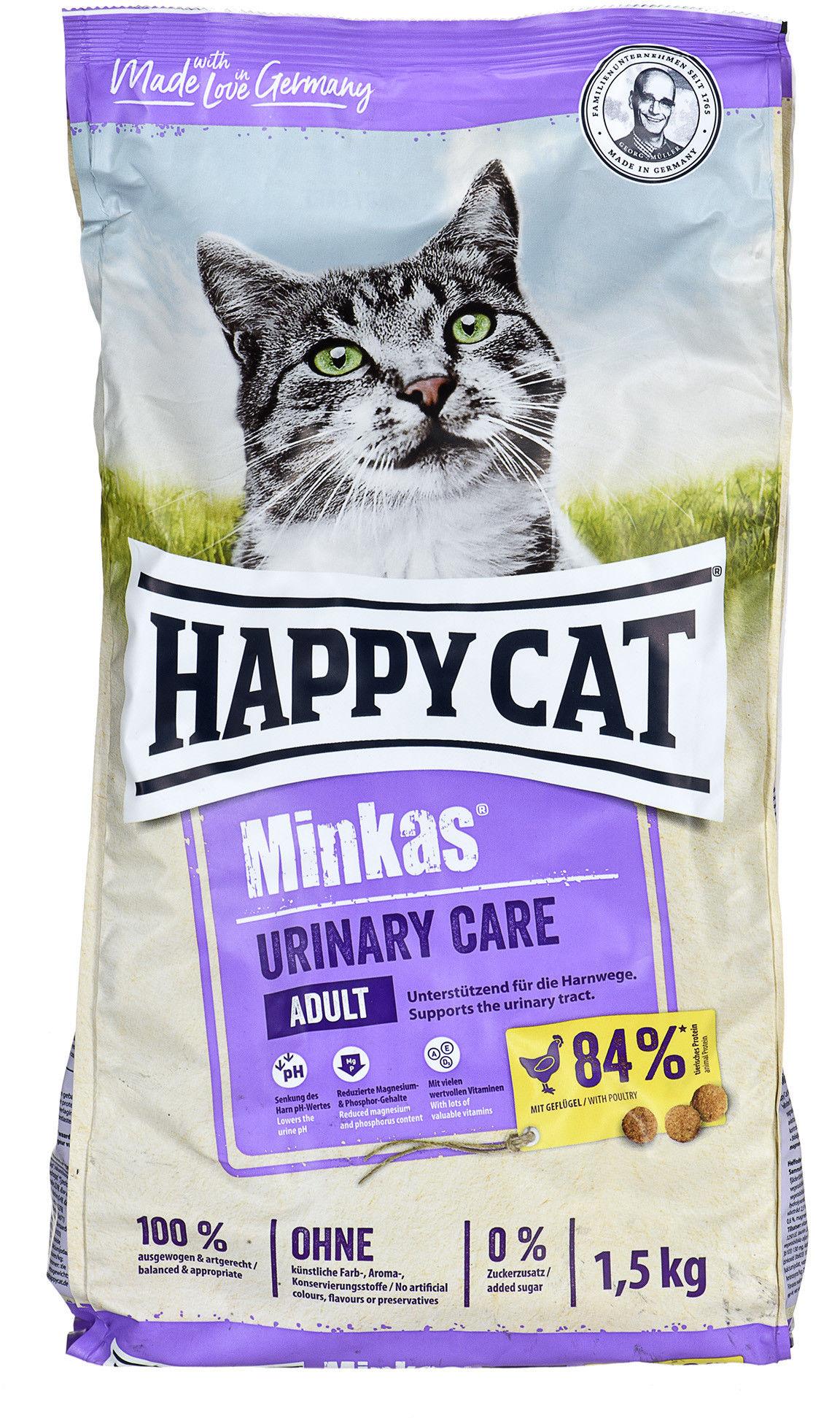 HC-4447 Happy Cat Minkas Urinary Care (drób) 1.5kg