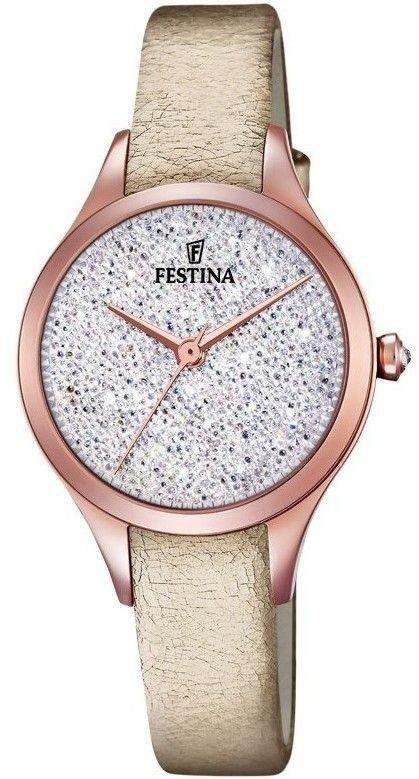 Zegarek Festina F20411-1 Swarovski - CENA DO NEGOCJACJI - DOSTAWA DHL GRATIS, KUPUJ BEZ RYZYKA - 100 dni na zwrot, możliwość wygrawerowania dowolnego tekstu.