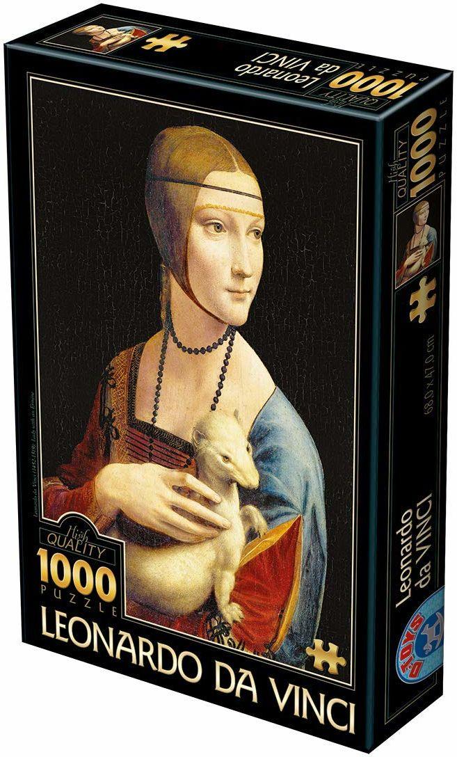D-TOYS 2 - Puzzle 1000 Leonardo Da Vinci