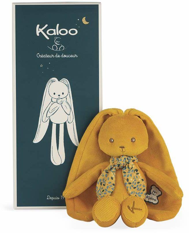 Kaloo K969943 Lapinoo-Ocher królik wypchane zwierzę - 25 cm, Ochre