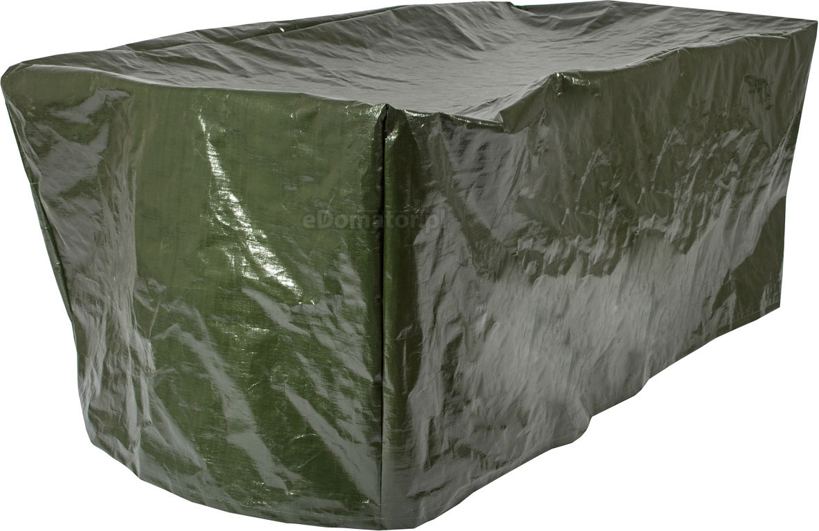 Gruby pokrowiec na meble ogrodowe 170 x 110 x 90 cm - zielony - zielony