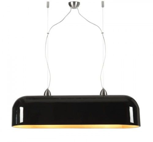 Lampa wisząca Halong H88 czarna