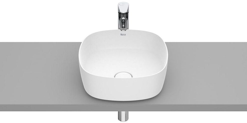 Roca Inspira Soft umywalka nablatowa 37cm biała matowa A327502620