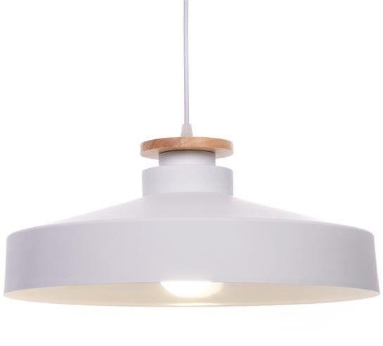 Lumina Deco Ludor nowoczesna biała lampa wisząca