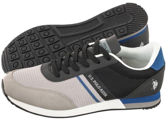 Sneakersy U.S. Polo Assn. Brandon2 Grey-Blk WILYS4127S0/MY2 (US67-a)