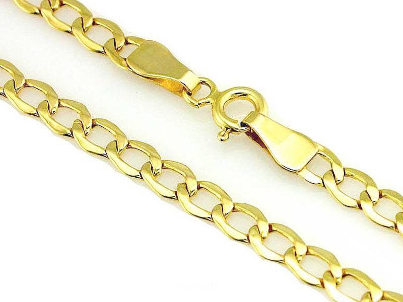Złoty łańcuszek męski 585 pancerka 60 cm 9,24 g