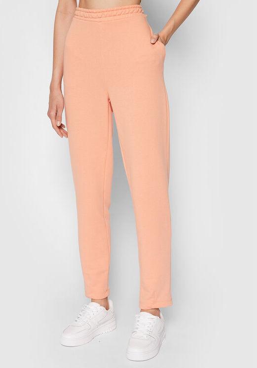 Spodnie dresowe Cocoon 1100-004270-0569-003 Pomarańczowy Regular Fit