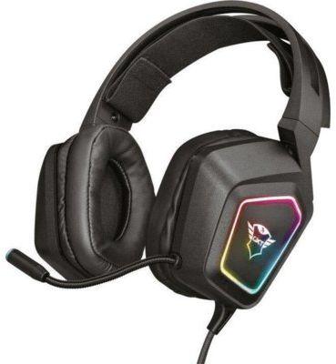 Słuchawki przewodowe TRUST GXT450 Blizz 7.1 RGB. AKCESORIA W ZESTAWIE DO 40%! ODBIÓR W 29 min! DARMOWA DOSTAWA DOGODNE RATY SPRAWDŹ!