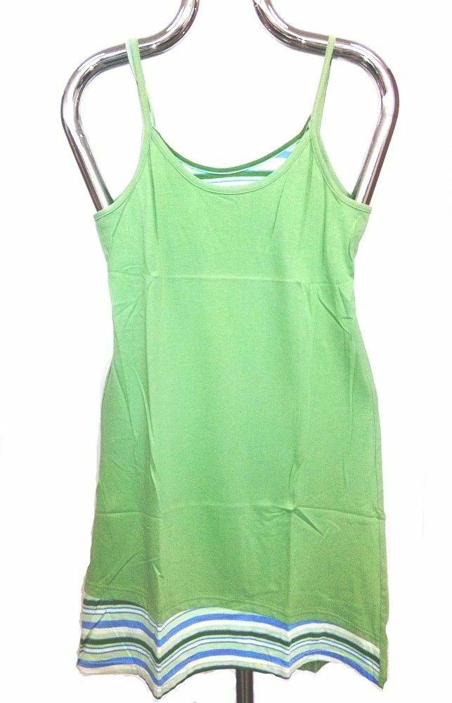 Koszula damska paski 42 S zielona ramiączka Luna
